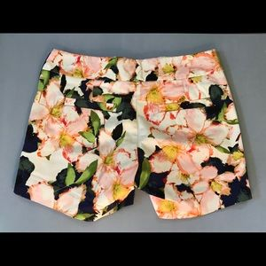 J. Crew Shorts - J. Crew Floral Stretch Shorts